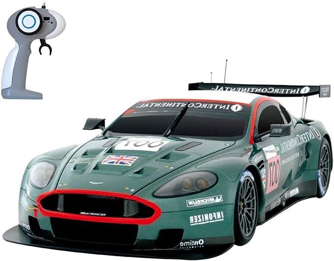 Aston Martin Dbr9 Racing Rc Ferngesteuertes Lizenz Fahrzeug Im Original Design Modell Maßstab 1 16 Ready To Drive Auto Inkl Fernsteuerung Und Batterien Neu Amazon De Spielzeug