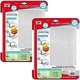 Pack 10 Forro para Libros Ajustable Forro para Libros Autoadhesivo 29x53cm (PF022)