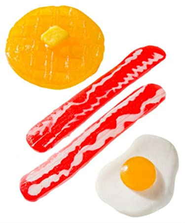 amazon com gummy breakfast gummy shaped like a morning meal