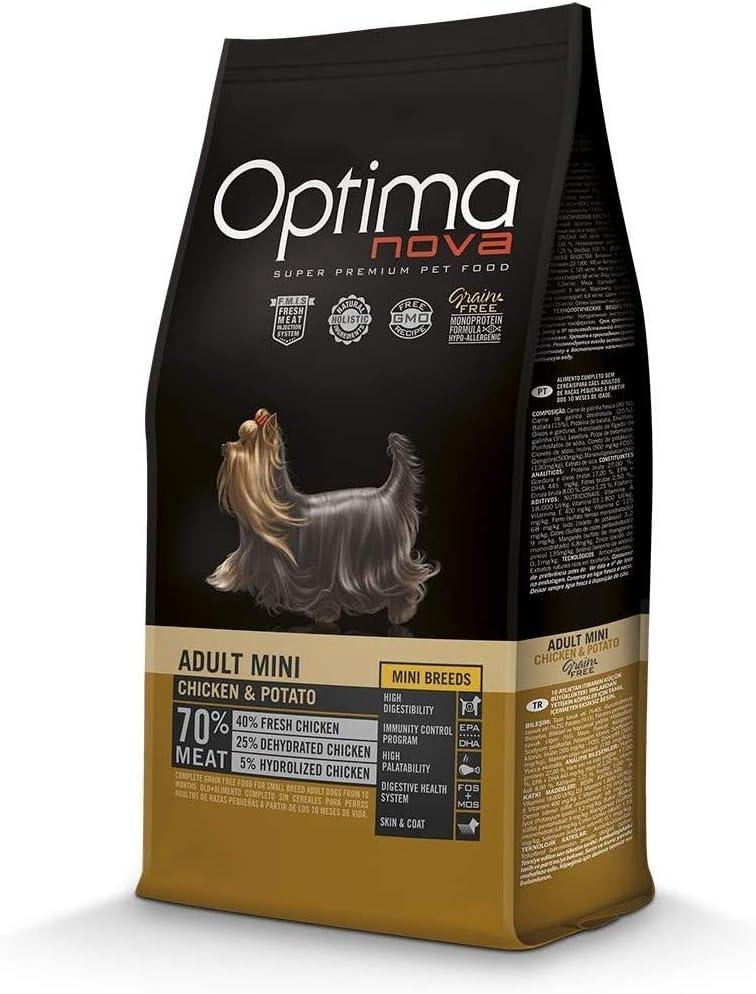 Optima Nova - Pienso para perros adultos mini grain free ...