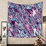 Keshia Dwete Custom tapestry geometrical abstract pattern abstract grunge pink image
