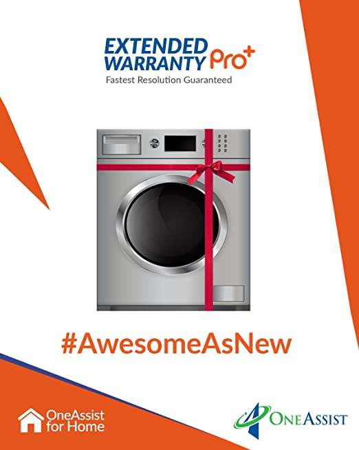 OneAssist 2 Years EW Pro Plus plan for Washing Machines Between Rs. 20,001 - Rs. 40,000 Parts & Accessories at amazon