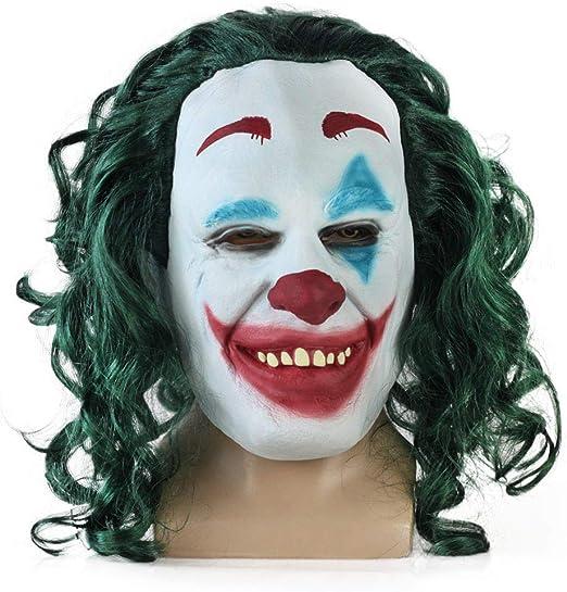 SEJNGF Máscara De Látex Payaso Batman Caballero Oscuro Halloween ...