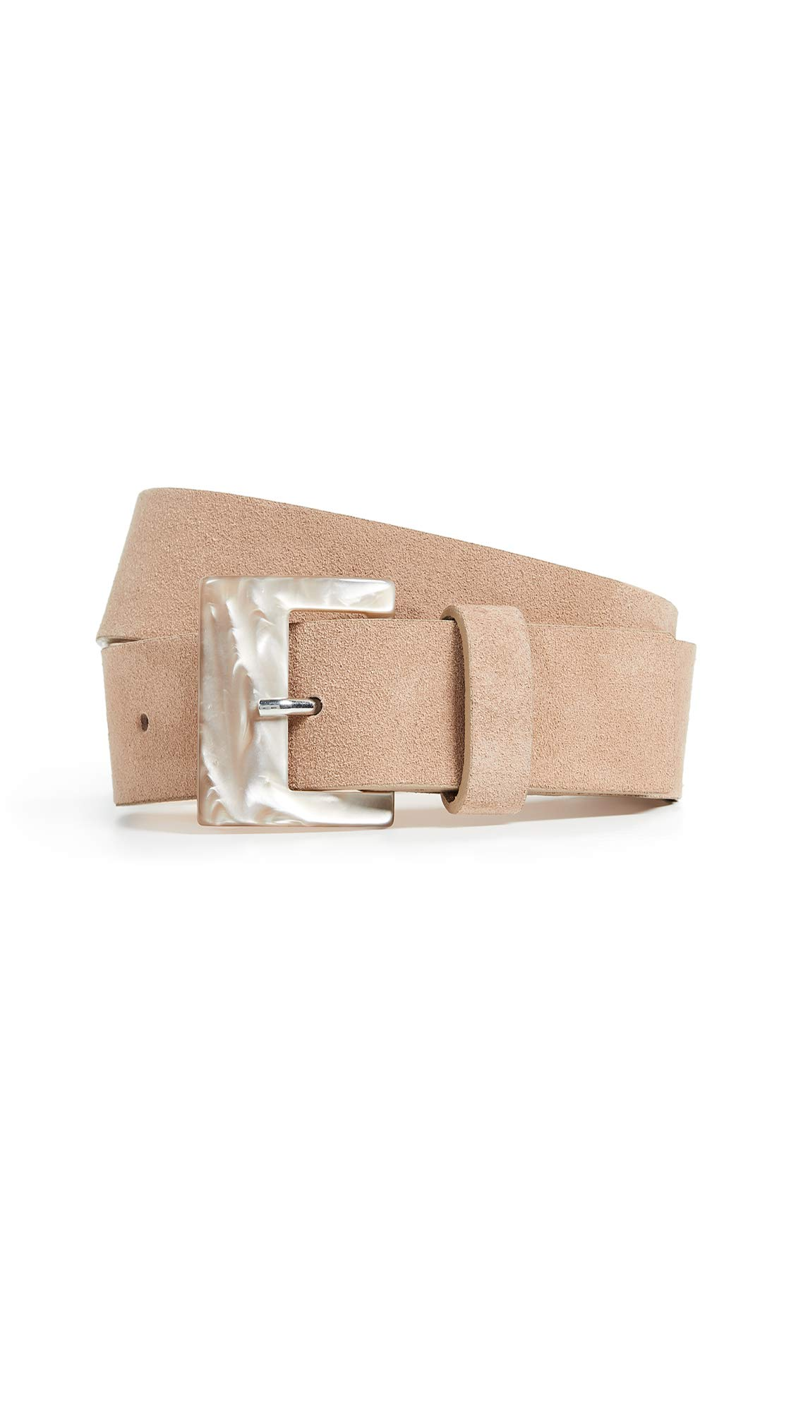 B-Low The Belt Women's Stassi Suede Belt, Sand, Tan, Small