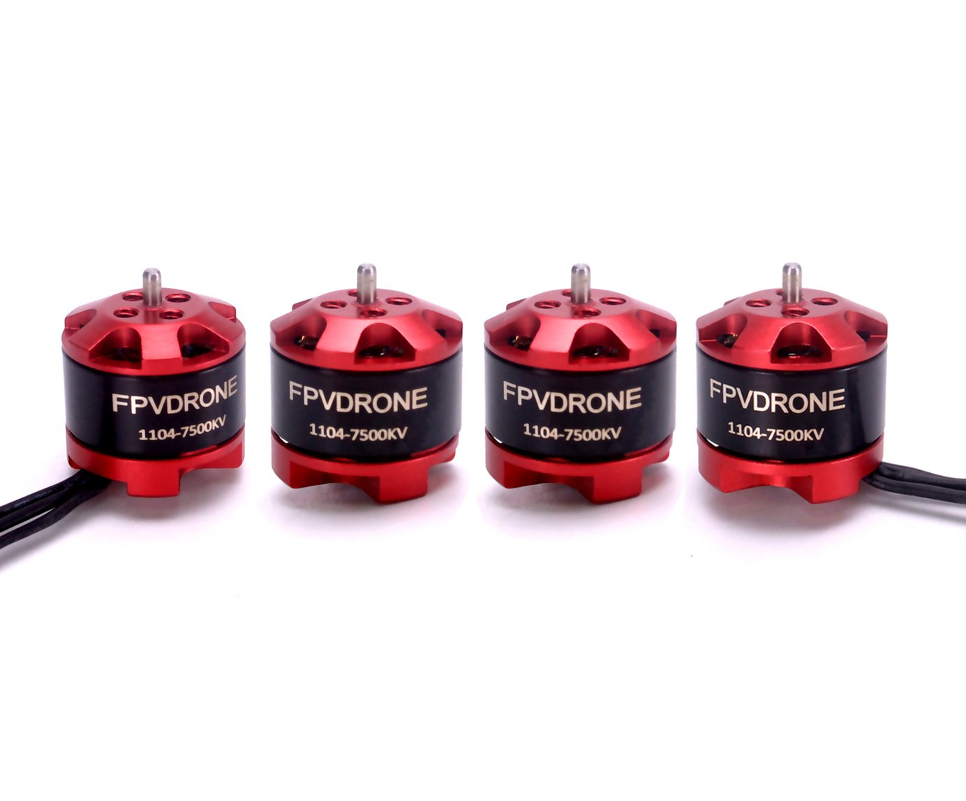 FPVDrone 1104 7500KV Brushless Motors for FPV Racing Drone Quadcopter 4pcs