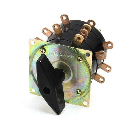 8 posiciones 18 pin soldar interruptor de cambio para la máquina de soldadura