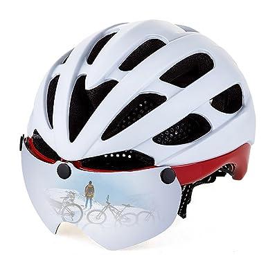 Lwj Casque de cyclisme Casque d'équitation solaire Casque d'une seule pièce