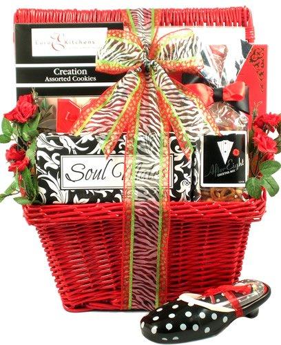 Gift Basket Village Soul Mates Valentine Gift Basket for Her