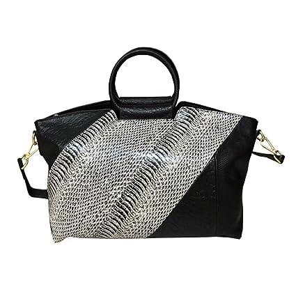 MMSM Damen Handtasche, Multifunktions Damen Tasche Geprägte