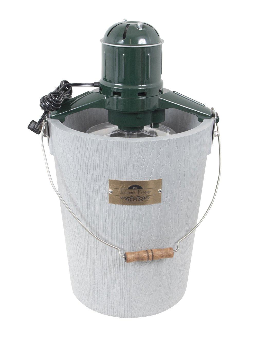 6 qt LIFETIME Ice Cream Maker - White Mountain Motor