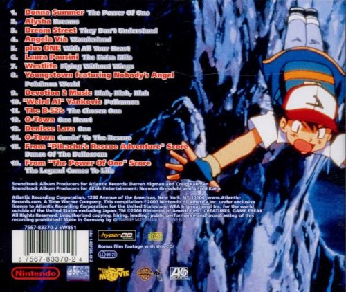 Various Artists Pokemon 2000 Power Of One Amazon Com Music