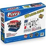 Playz V8 Combustion Engine Model Building Kit