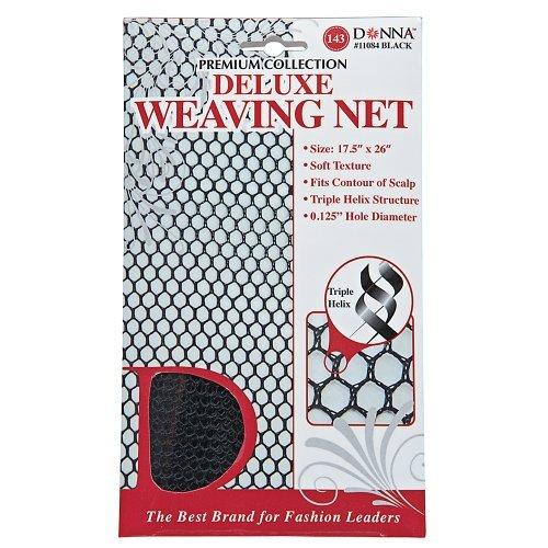 Donna Delux Weaving Net Black, 1 Pound ()