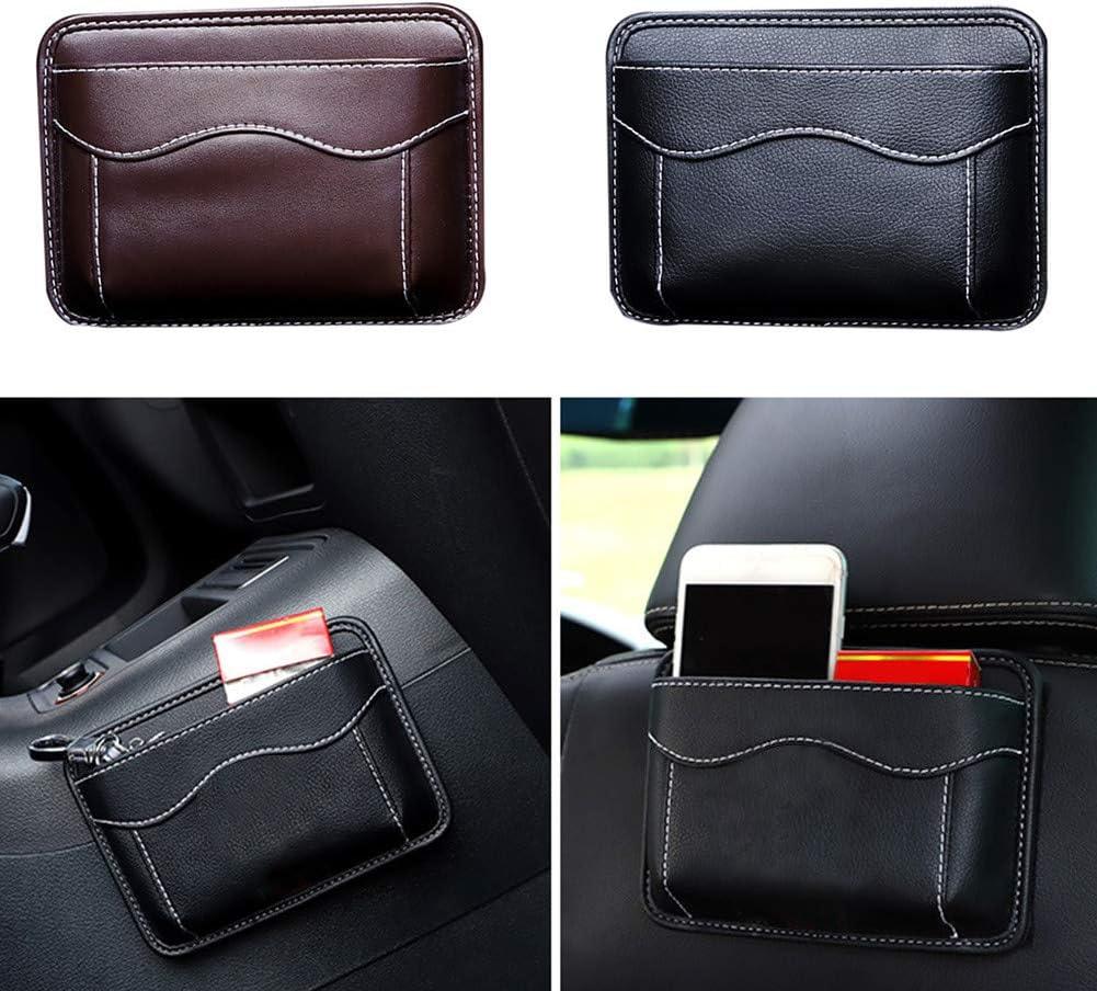 Pasteable Autositz Taschen organisieren Bleib /überall Airymap Car Seat Organizer Selbstklebende Schwarz Auto Aufbewahrungstasche f/ür Autositze