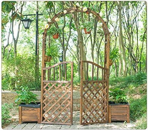 XLOO Arcos de jardín de Madera, cenador de jardín Superior arqueado, 89