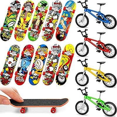 Gejoy 14 Piezas Bicicletas Patinetas de Dedo Monopatines ...