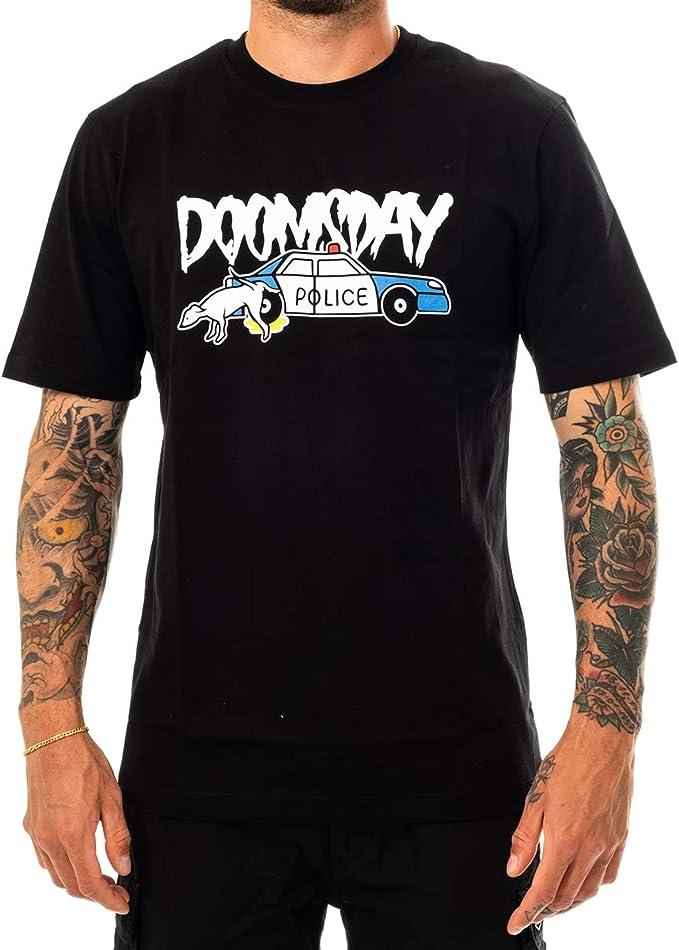 Doomsday – Camiseta – Adab – Negro: Amazon.es: Ropa y accesorios