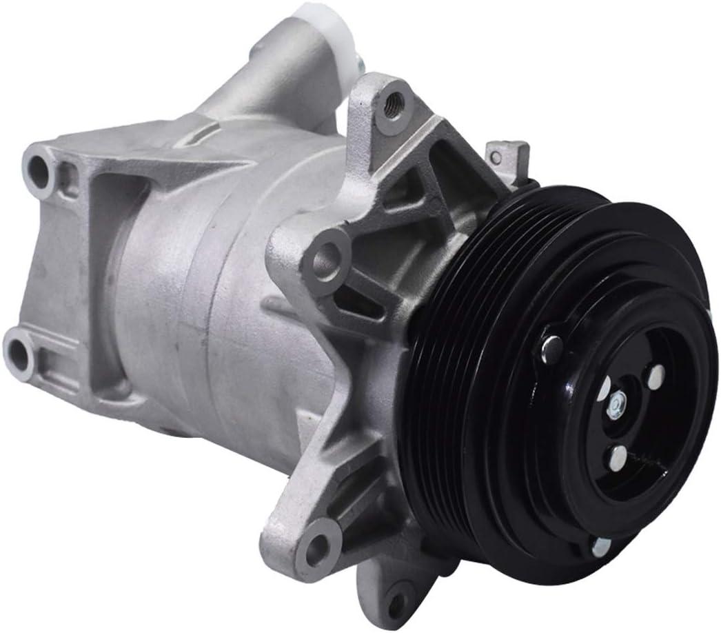 Automotive WFLNHB A/C Compressor with Clutch for 2003 2004 2005 ...