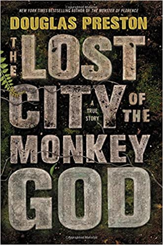 Image result for lost city of the monkey god book