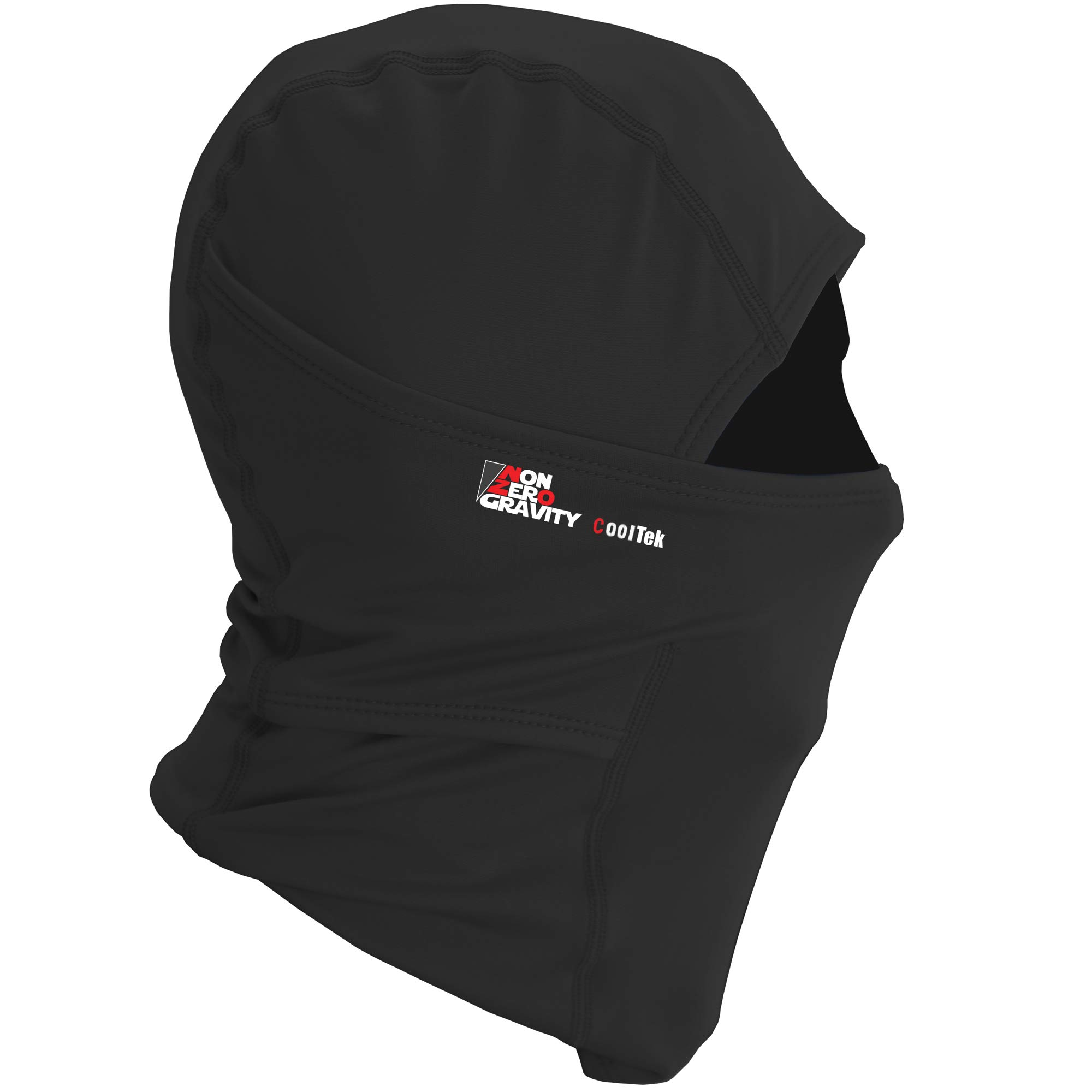 NonZero Gravity Cooling Hood | Tactical Hoodie, Head Wrap And Neck Scarf For Cycling, Biking And Sports (Tactical, Black)