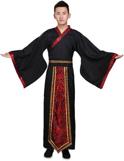 Amazon.com: Ez-sofei - Albornoz tradicional de la dinastía ...