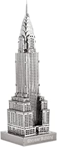 Metal Earth Fascinations ICX014 502881, Chrysler Building Construction Toy 1 Metal Board 14 Years