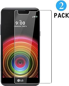 WEOFUN 2 Unidades LG X Power K220 Protector de Pantalla, Cristal ...