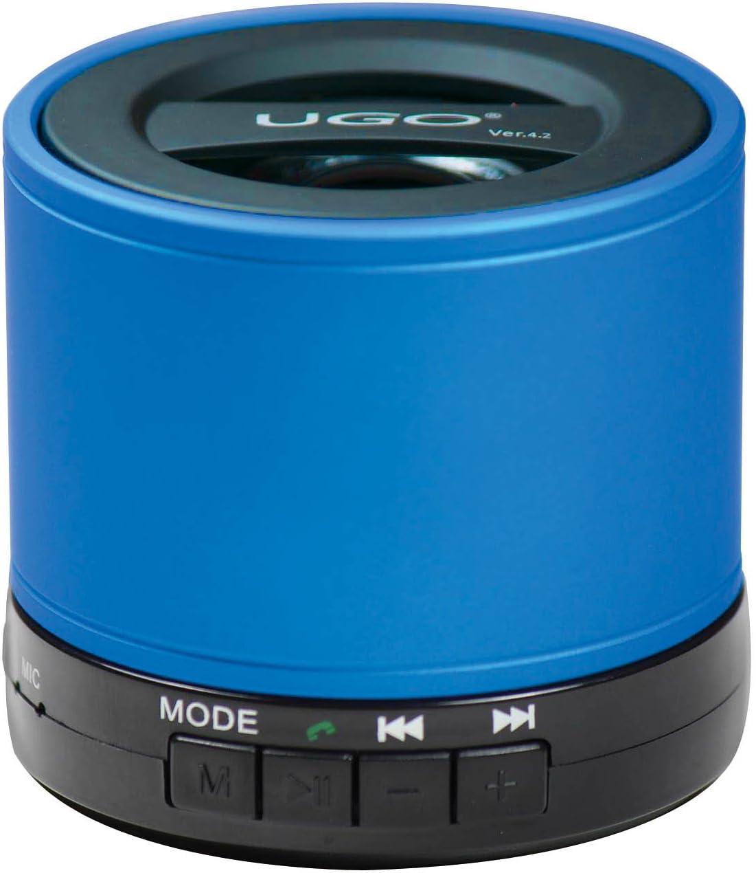 UGO Portable Bluetooth Speaker for Smartphones Retail Packaging Black