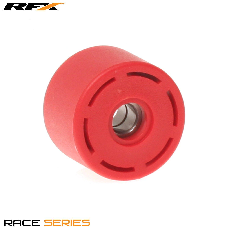 RFX FXCR 10100 55RD - Rodillo de cadena inferior para Honda CR125/250 04-07 inferior CRF250/450 04-08, color rojo