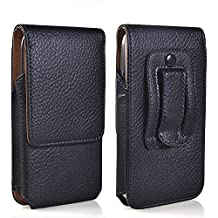 LIKESEA Magnetic Closure Holster Bag Protective Leather Pouch Belt Buckle Clip Case Cover for Samsung Galaxy S3, S4 / Sony Xperia Z, Xperia S, Xperia SP, Xperia L / Nokia Lumia 928, 925 / LG Optimus L7 P700 / HTC One M7