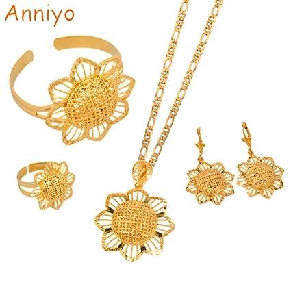 60c30728fcfa3 Amazon.com: TTO Jewelry Sets - Anniyo Saudi Arabia Jewelry Pendant ...