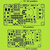 GEREE On/Off Delay Relay Module 12V Relay Board External
