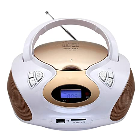 ZCW Reproductor De CD Portátil Fetal Educación Máquina USB.SD/MMC ...