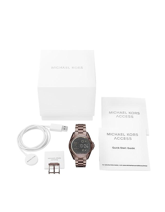 0ef3b61468c0 Michael Kors Women s Mkt5007 Brown Steel Watch  Amazon.co.uk  Clothing