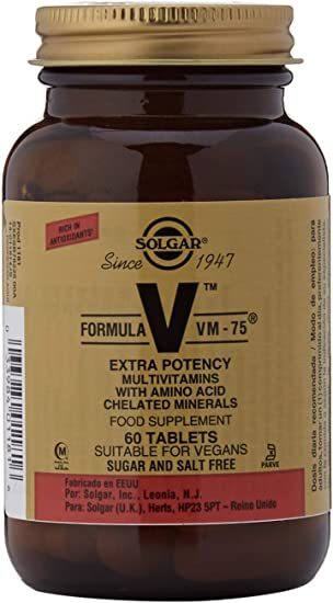 Solgar Fórmula VM-75-60 Tabletas