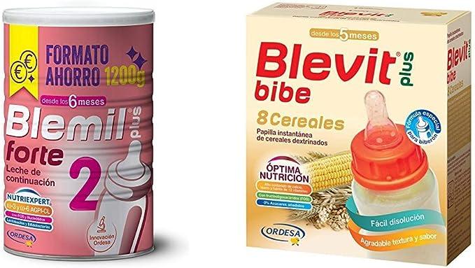 Blemil Plus Forte 2, Leche de continuación para bebé - 1200 g ...