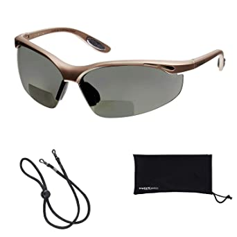 voltX CONSTRUCTOR POLARIZADO (dioptría +1.0) Gafas de seguridad de lectura bifocales