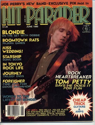 Hit Parader Magazine TOM PETTY Blondie FREDDIE MERCURY - Metal Band Magazine