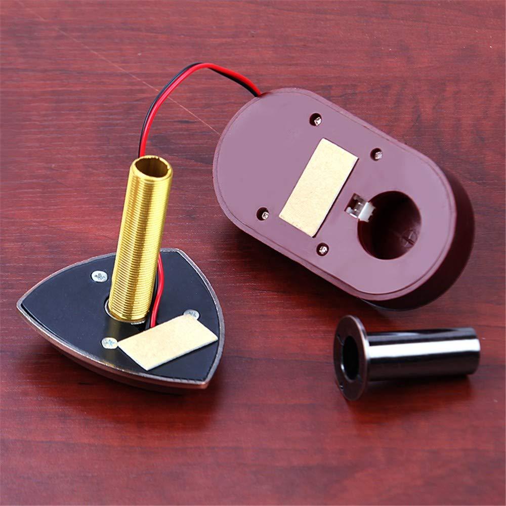 WJTZ-FYH Home doorbell cat eye with 26 ringtones 2-in-1 door mirror metal security door peephole mirror, A3 by WJTZ-FYH (Image #2)