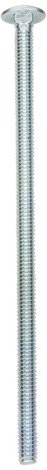 Zinc Plated Finish Fully Threaded Grade 2 Square Neck 1//2-13 UNC Threads Round Head Steel Carriage Bolt Meets ASME B18.5//ASTM A307 Pack of 25 2-1//4 Length