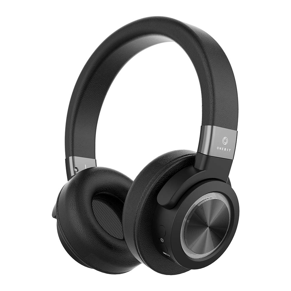Onebit, Rockbit Studio, Wireless Headphones,16 Hours of uninterrupted Music,Auxiliary Backup Cable, Built-in Microphone, Bluetooth 4.1, Rechargeable 1050 mAh Battery, Full Charge in 3 Hours