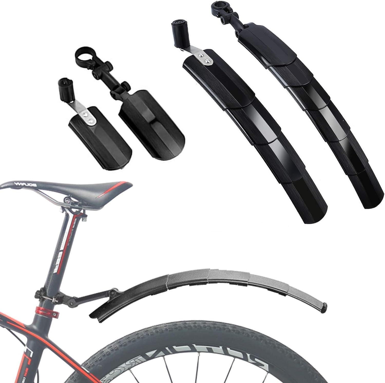 PPLAE MTB Guardabarros de liberaci/ón r/ápida de Bicicletas Accesorios universales Aleta 26 Pulgadas Ciclismo Guardia MTB Fender azulejo Bloqueo de Barro