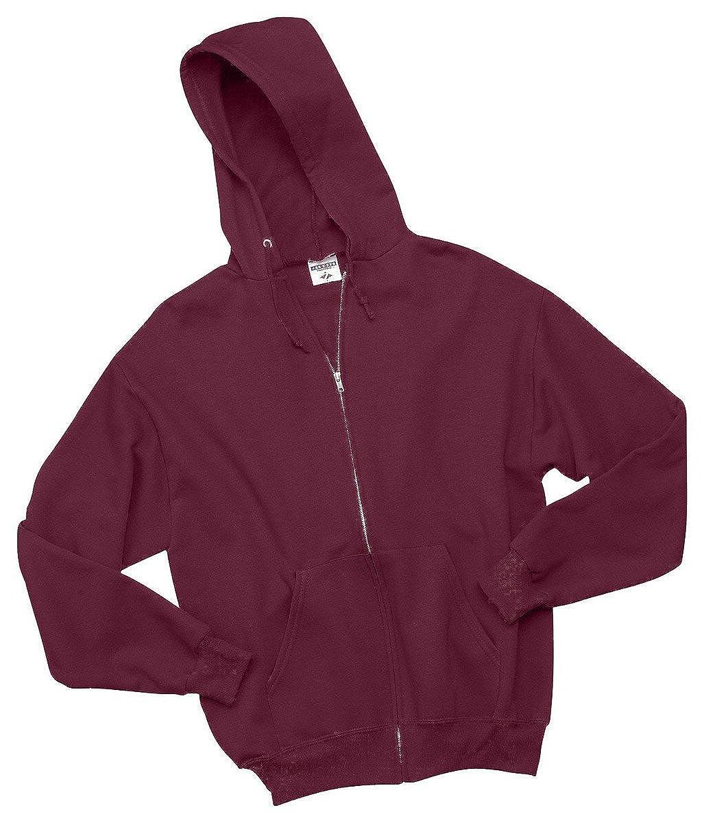 Jerzees Youth 8 oz 50//50 NuBlend Fleece Full-Zip Hood 993B