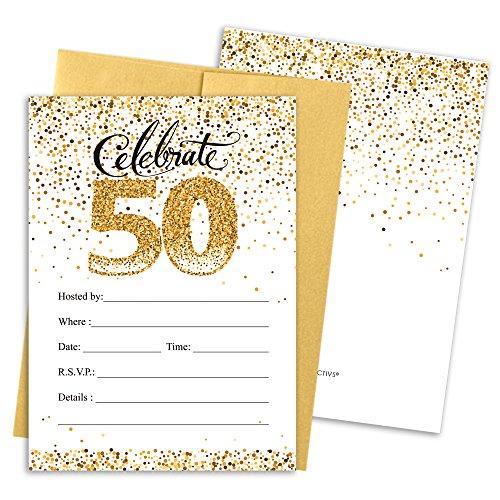 50th Invitation - 1