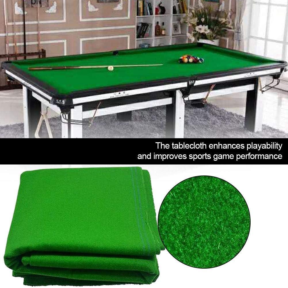 Billardtischtuch Billardtischtuch Zubeh/ör Bar Solid Sports Billard Pool Professional Hotel luckything Billardtisch Tuch Pool Billard Snooker Zubeh/ör Billardtuch
