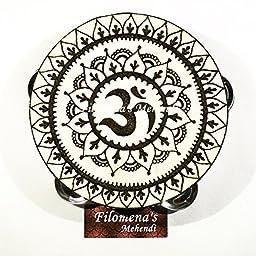 Mandala Chakra Om Symbol Tambourine
