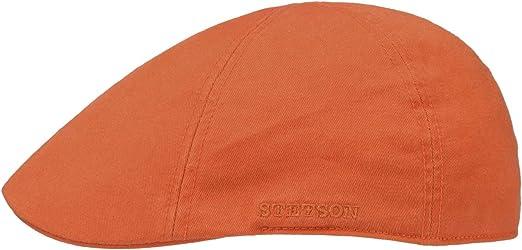 STETSON SUN GUARD ® DUCK IVY FLATCAP CAP KAPPE MÜTZE TEXAS 95 NEON GELB COTTON