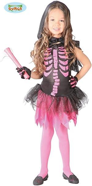 Guirca 82552 - Skeleton Girl Infantil Talla 10-12 Años: Amazon.es ...
