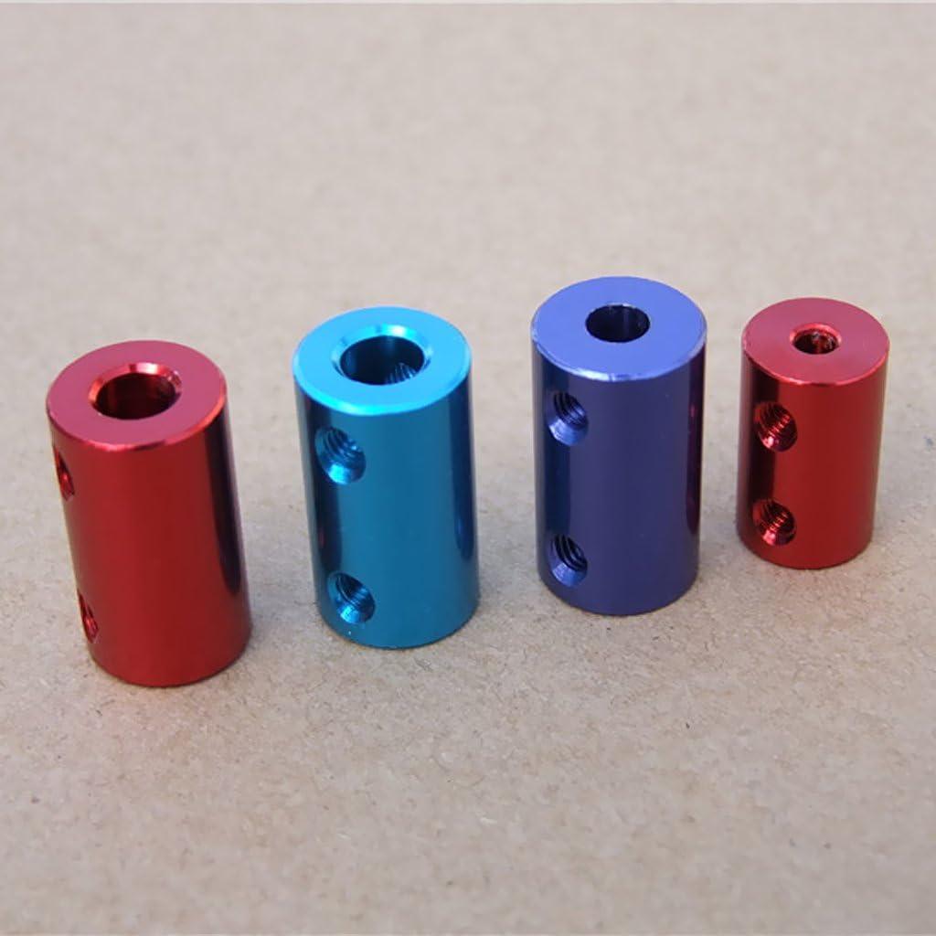 Rigid Flexible Shaft Coupling Coupler Motor Connector Aluminum-2//3//4//5//6//8//10mm 5-6mm