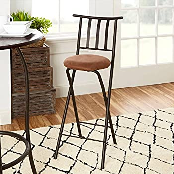Amazon Com Trademark Home Folding Stool Heavy Duty 24